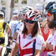 Pippa Middleton disputait en juillet 2014 la course Race Across America avec son frère James au profit de la Michael Matthews Foundation de leur ami James Matthews.