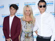 Pamela Anderson radieuse avec ses fils : Son hépatite C, bientôt guérie ?