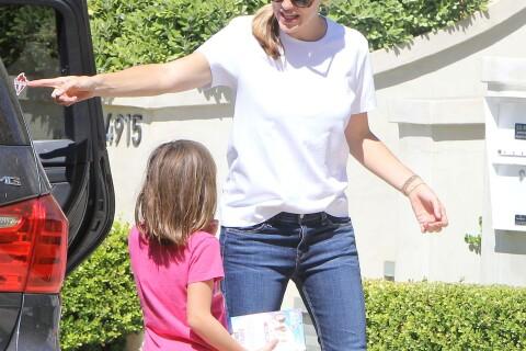 Jennifer Garner et Ben Affleck sans alliance avec leurs enfants...