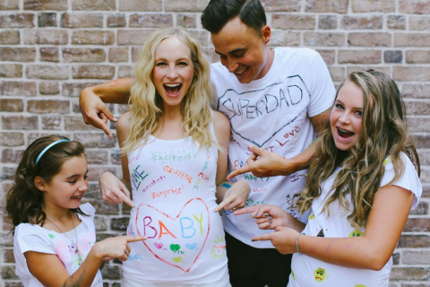 Candice Accola (The Vampire Diaries) enceinte : Joyeux faire-part avec Joe King