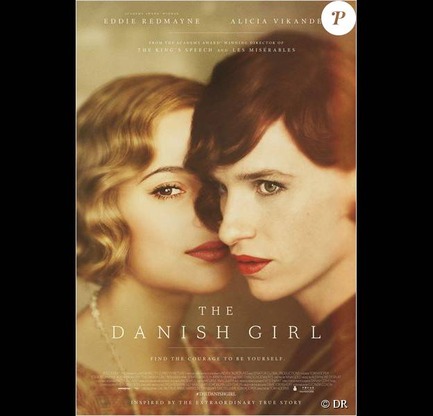 Affiche du film The Danish Girl, en salles le 20 janvier 2016