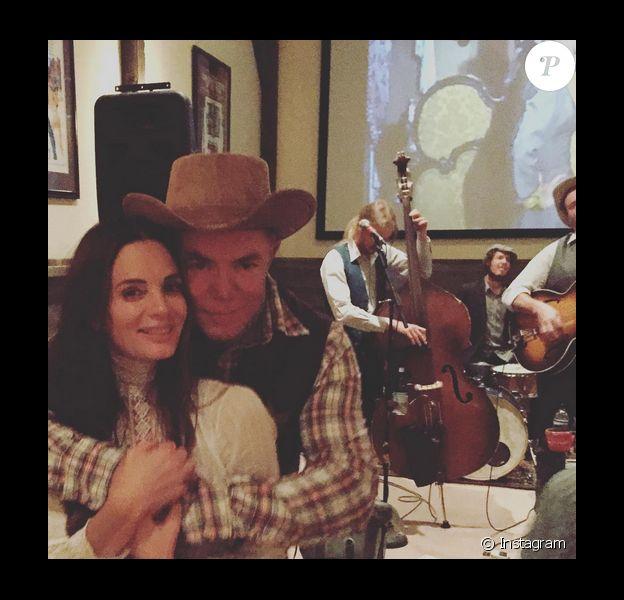 Gabrielle Anwar et Shareef Malnik se sont mariés / photo postée sur Instagram.
