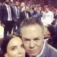 Shareef Malnick et sa femme Gabrielle Anwar / photo postée sur Instagram