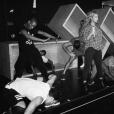 Beyoncé dans les coulisses de sa répétition pour le festival Budweiser Made in America. Photo publiée le 5 septembre 2015.