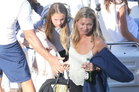 Kate Moss : Maman détendue avec Lila Grace, en vacances en France