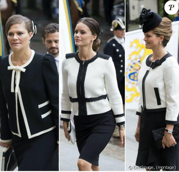 La princesse Victoria de Suède a eu du mal à rester éveillée, le 15 septembre 2015 lors de l'ouverture cérémonielle du Parlement suédois (Riksdag). Les princesses Madeleine et Sofia s'y sont distinguées par leurs looks jumeaux !