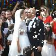 Pascal Obispo a épousé Julie Hantson au Cap-Ferret le 19 septembre 2015.