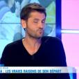 Christophe Beaugrand dans le Débrief de Secret Story 9, le 21 septembre 2015.