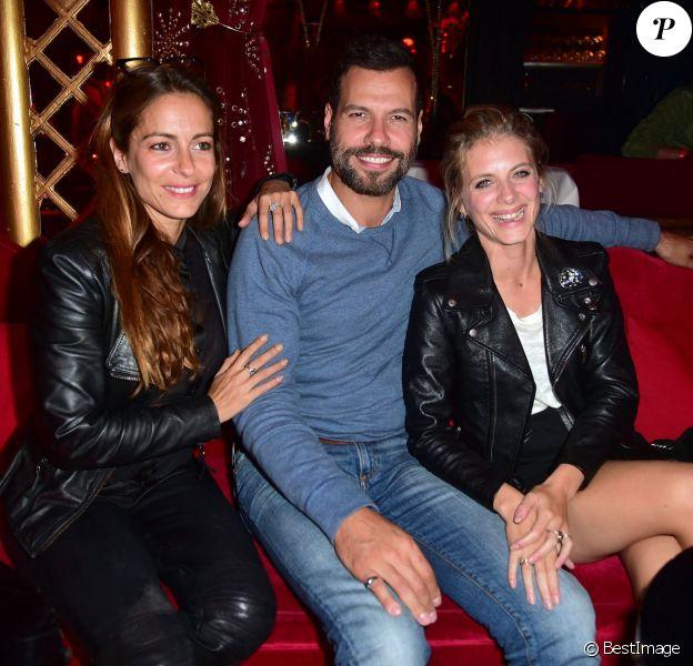 """Audrey Dana, Laurent Lafitte et Mélanie Laurent - Soirée du film """"Boomerang"""" au Raspoutine à Paris le 21 septembne 2015."""
