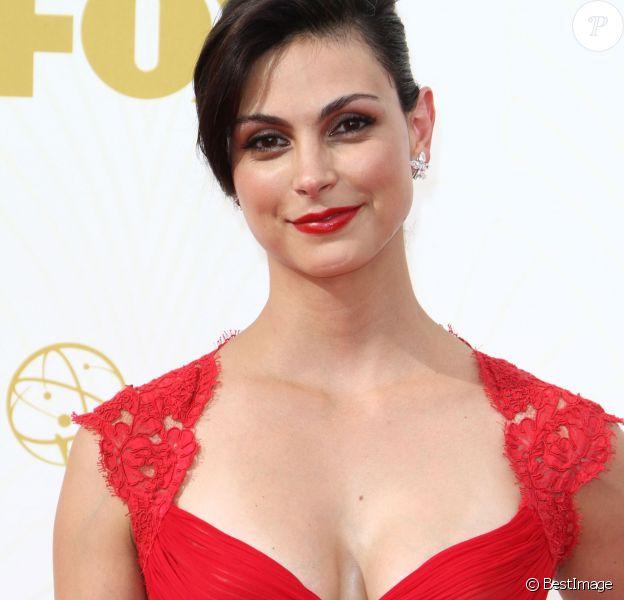 Morena Baccarin à la 67e cérémonie annuelle des Emmy Awards au Microsoft Theatre à Los Angeles, le 20 septembre 2015