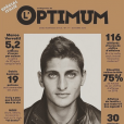 Marco Verratii en couverture de L'Optimum magazine