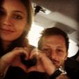 Anouchka Alsif et Nicolas Duvauchelle : selfie en amoureux !