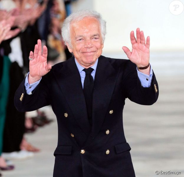 "Designer Ralph Lauren- Défilé de mode printemps-été 2016 ""Ralph Lauren"" lors de la fashion week de New York. Le 17 septembre 2015"