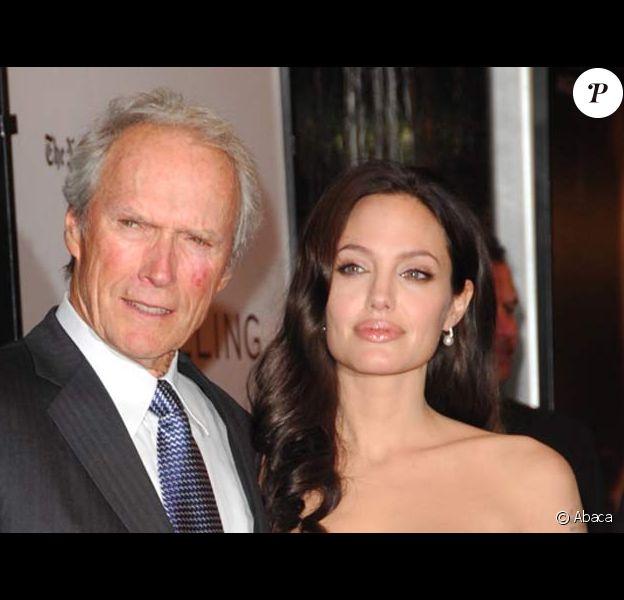 Angelina Jolie et Clint Eastwood
