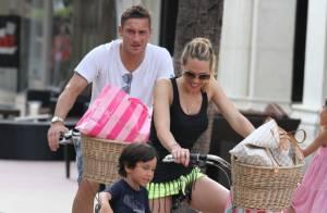 Francesco Totti (AS Rome) : Sa belle Ilary Blasi enceinte de leur 3e enfant