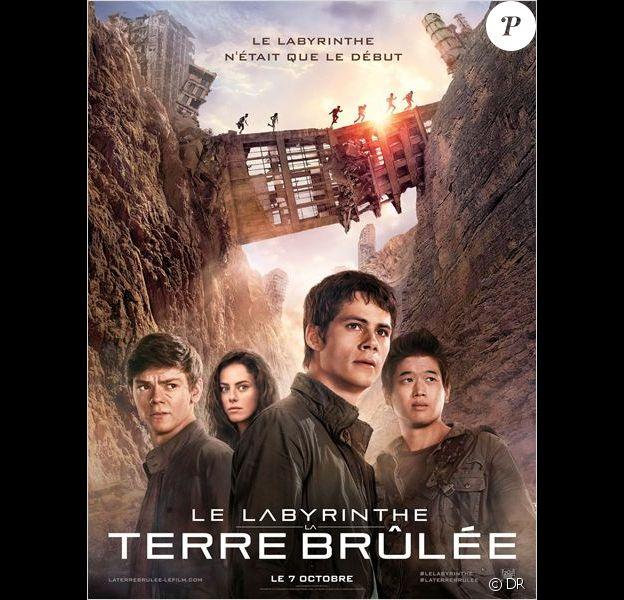 Affiche du film Le Labyrinthe - La Terre brûlée