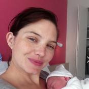 Delphine Chanéac maman : Elle dévoile le visage de son bébé, craquant !
