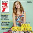 Cécile de France en couverture de Télé 7 Jours en kiosques lundi 5 octobre.