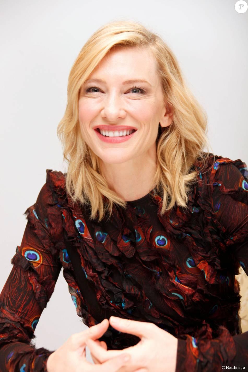 """Cate Blanchett en conférence de presse pour le film """"Truth"""" au Four Seasons Hotel à Beverly Hills le 5 octobre 2015"""