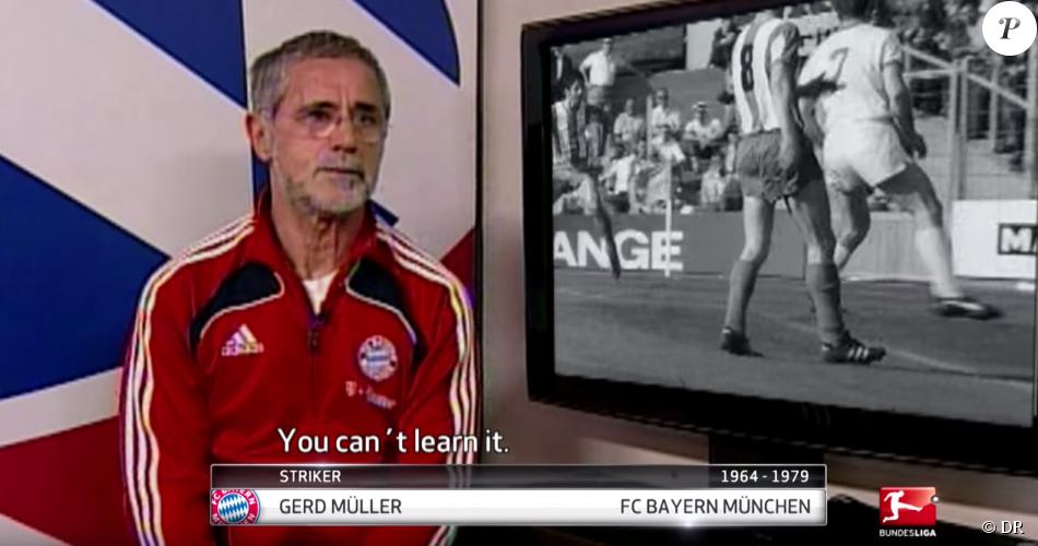 Gerd Müller, ancien légendaire attaquant du Bayern Munich