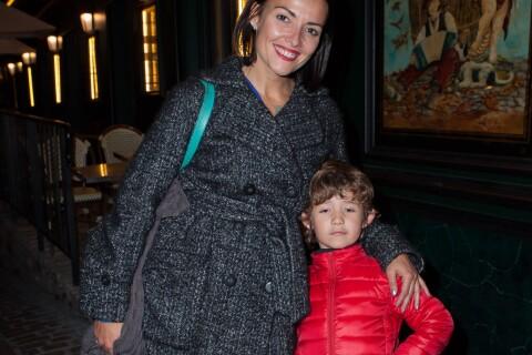 """Kareen Antonn : Radieuse avec son fils pour le showcase de """"Marie-Antoinette"""""""