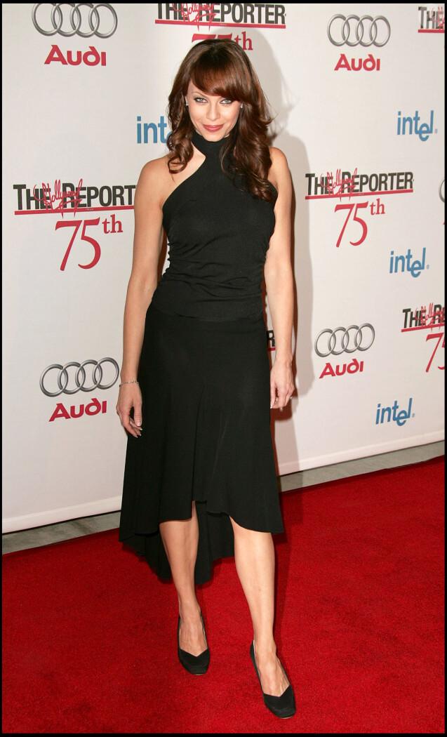 Melinda Clarke à la soirée de gala du 75e anniversaire de The Hollywood Reporter, le 13 septembre 2005