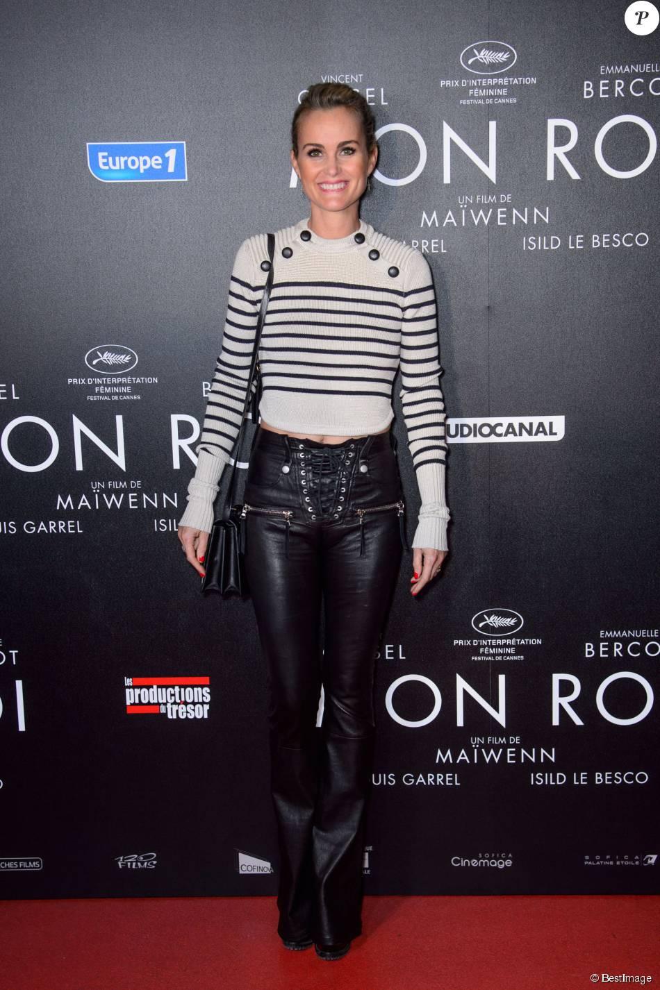 """Laeticia Hallyday - Avant-première du film """"Mon Roi"""" au cinéma Gaumont Capucines à Paris, le 12 octobre 2015."""
