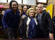 Bernadette Chirac : Entourée de Laurent Blanc et des stars du foot pour + de Vie