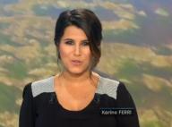 Karine Ferri, enceinte : Robe sexy et grand sourire, son baby-bump s'arrondit !