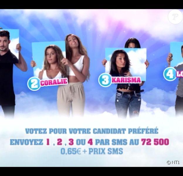 Karisma, Ali, Loïc et Coralie sont les nominés de la semaine, dans Secret Story 9.