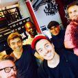 Marco Conti avec la casquette et Inna Modja, twitter, juillet 2015