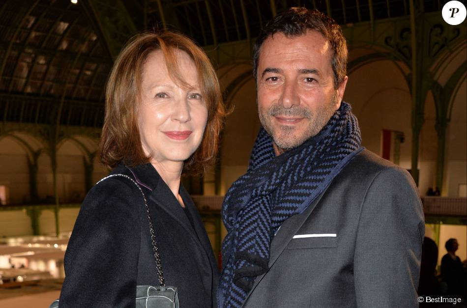Nathalie baye et bernard montiel soir e d 39 inauguration de la fiac 2015 organis e par orange au - Bernard montiel son compagnon ...