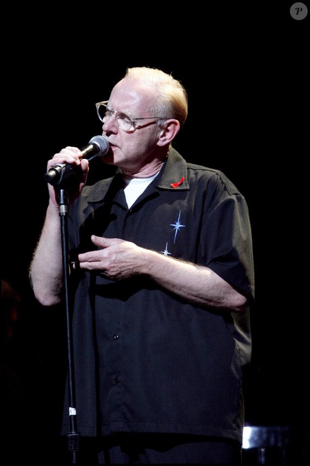 William Sheller lors d'un hommage à Barbara à Paris, le 26 novembre 2007.