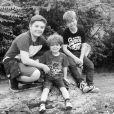 Les trois garçons de Natasha Hamilton, fruits de son premier mariage / photo postée sur le compte Instagram de la chanteuse anglaise.
