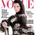 Lana Del Rey en couverture de l'édition turque du magazine Vogue.