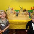 Harper et Gideon fêtent leurs 5 ans, sur Instagram, octobre 2015