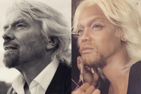 Tyra Banks bluffante en Richard Branson : Découvrez son incroyable métamorphose