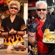 Pour l'émission spéciale Halloween du FABLife Show, Chrissy Teigen s'est transformée en Guy Fieri / photo postée sur Instagram