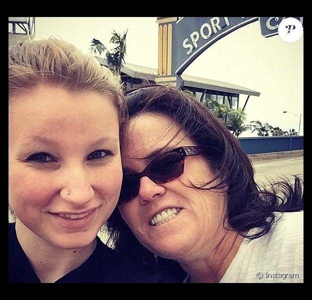 Rosie O'Donnell et sa fille Chelsea / photo postée sur Instagram.