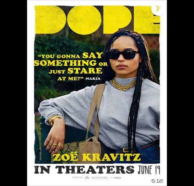 Affiche américaine du film Dope