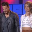 Rémi et Emilie, dans la demi-finale de  Secret Story 9 , le vendredi 6 novembre 2015 sur TF1.