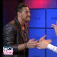 Rémi et Emilie en salle des coffres, dans la demi-finale de  Secret Story 9 , le vendredi 6 novembre 2015 sur TF1.