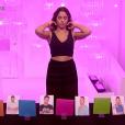 Coralie dans le sas, dans la demi-finale de  Secret Story 9 , le vendredi 6 novembre 2015 sur TF1.