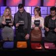 Les demi-finalistes en salle des coffres, dans la demi-finale de  Secret Story 9 , le vendredi 6 novembre 2015 sur TF1.