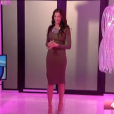 Julie dans le sas, dans la demi-finale de  Secret Story 9 , le vendredi 6 novembre 2015 sur TF1.