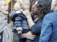 Carles Puyol aux anges avec sa Vanesa, enceinte, et leur craquante Manuela