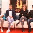 Loïc, Rémi, Jonathan et Emilie, dans la quotidienne de Secret Story 9 du mercredi 11 novembre sur NT1