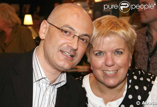 Mimie Mathy et son mari Benoist Gérard