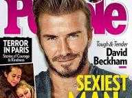 "David Beckham, ""Homme le plus sexy"" : Son fils Brooklyn étonné !"