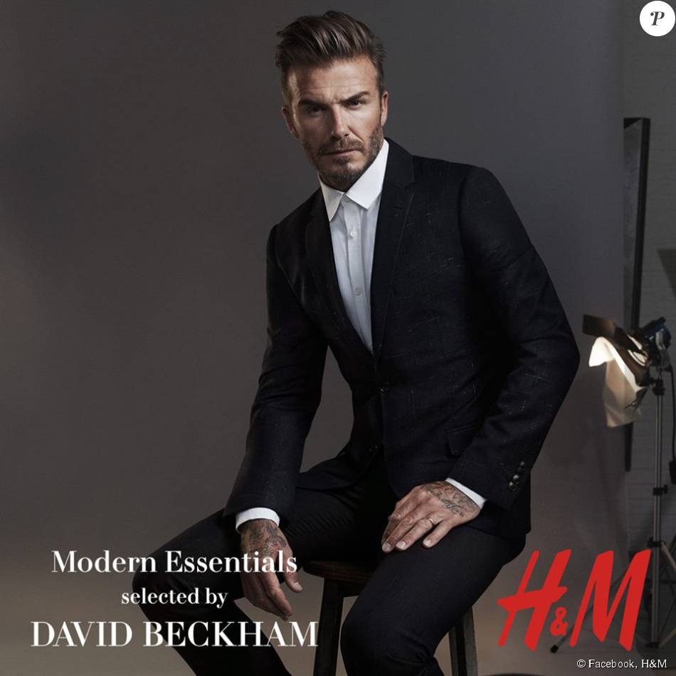 david beckham styliste et g rie de la collection modern classics pour h m octobre 2015. Black Bedroom Furniture Sets. Home Design Ideas
